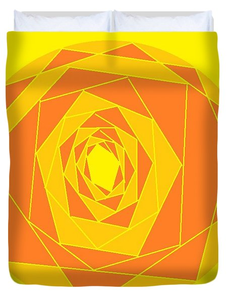 A Rose By Any Other Name 1 Duvet Cover by Linda Velasquez