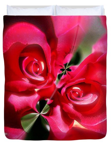 A Rose By Any Other Name Duvet Cover by Blair Stuart