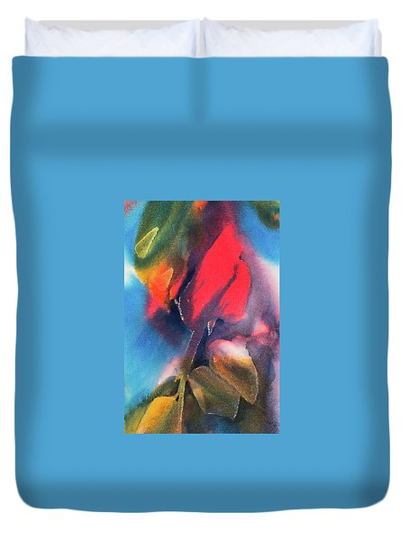 A Rose By Any Other Name Duvet Cover by Lee Beuther