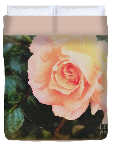 A Rose For Kathleen Duvet Cover
