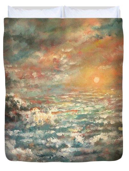 A Sea Of Clouds Duvet Cover