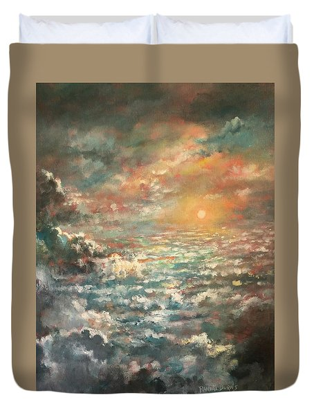 A Sea Of Clouds Duvet Cover
