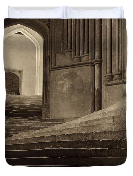 A Sea Of Steps Duvet Cover