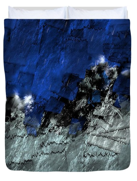 A Sea Storm In My Heart Duvet Cover