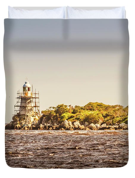 A Seashore Construction Duvet Cover