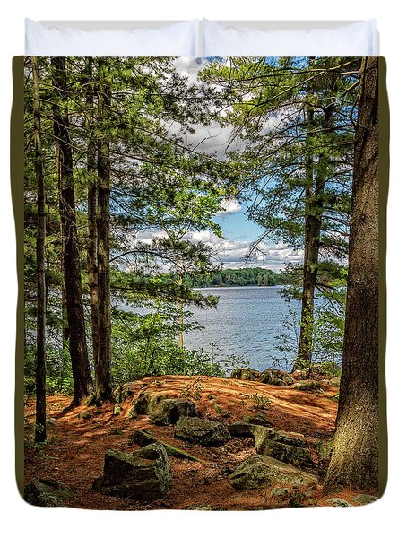 A Secluded Spot Duvet Cover