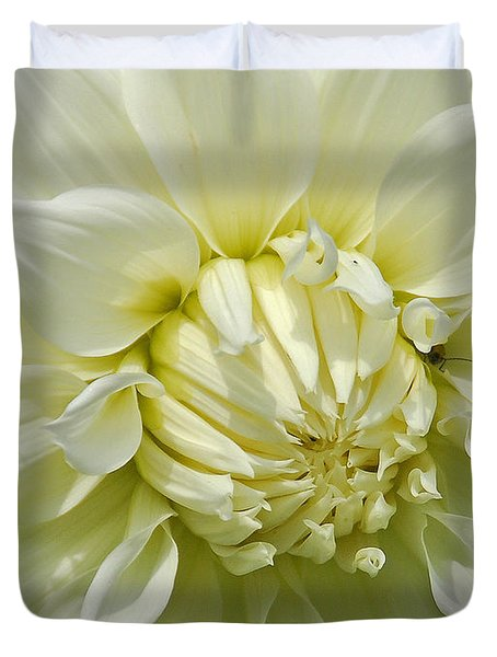 A Secret Visitor Duvet Cover by Cindy Manero