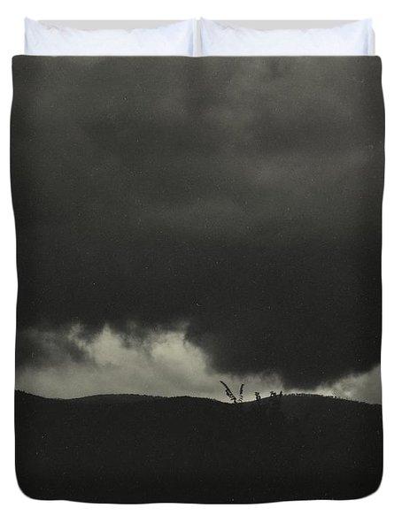 A Sequence Of Ten Cloud Photographs Duvet Cover