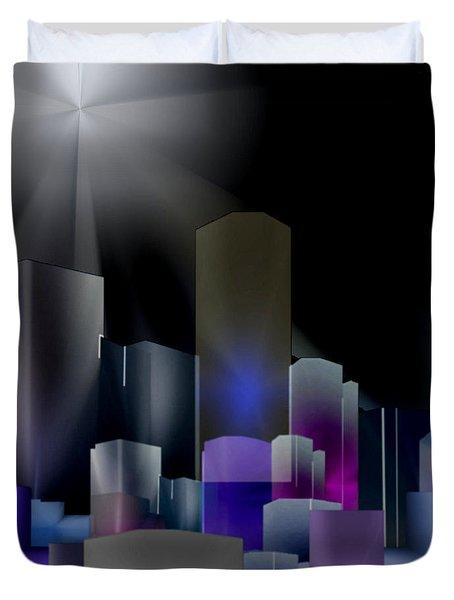 A Shining Light Duvet Cover