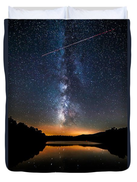 A Shooting Star Duvet Cover