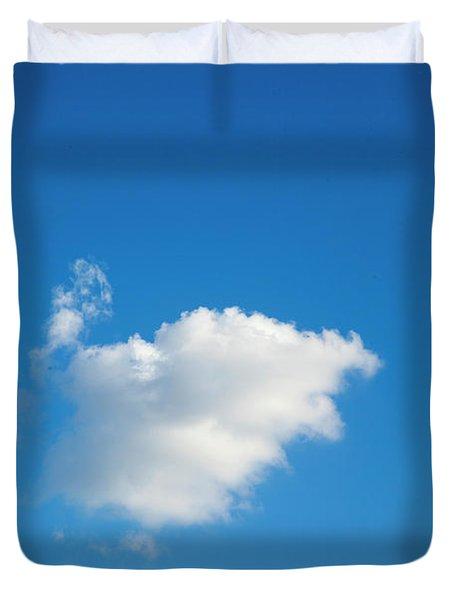 A Single Cloud Duvet Cover