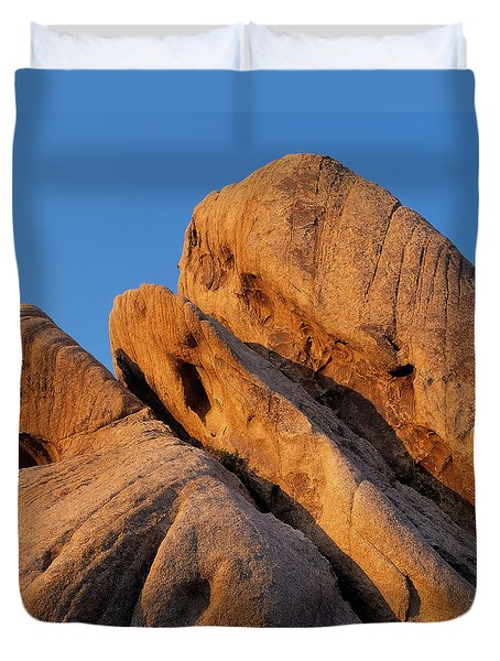 A Slanted View Duvet Cover