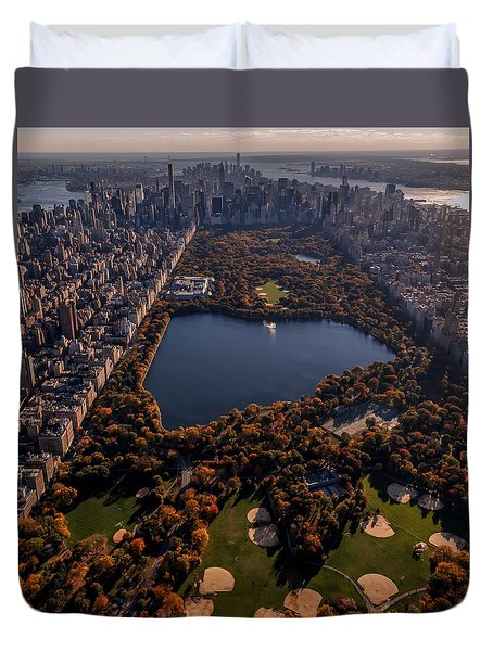 A Slice Of New York City  Duvet Cover