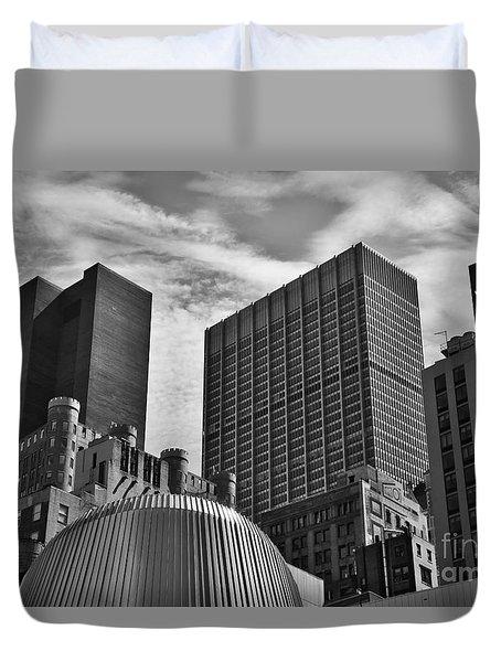 A Slice Of New York City Duvet Cover