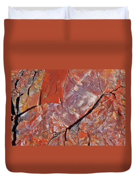 A Slice Of Time Duvet Cover