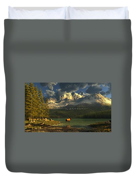 A Small Planet Duvet Cover
