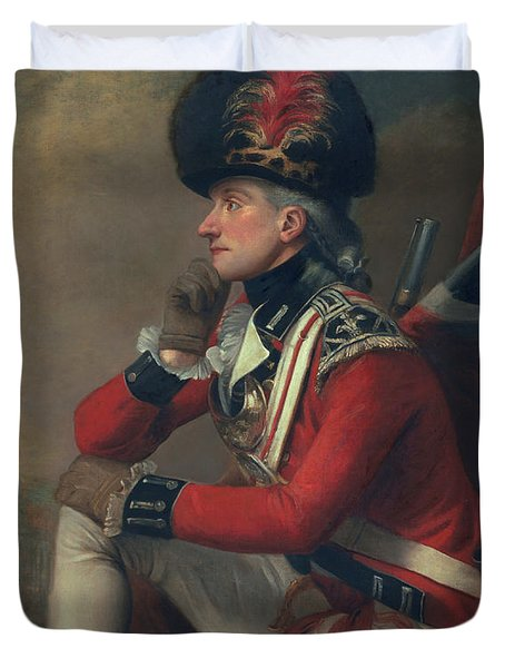 A Soldier Called Major John Andre Duvet Cover by English School