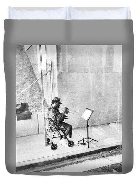A Soldier's Song Duvet Cover