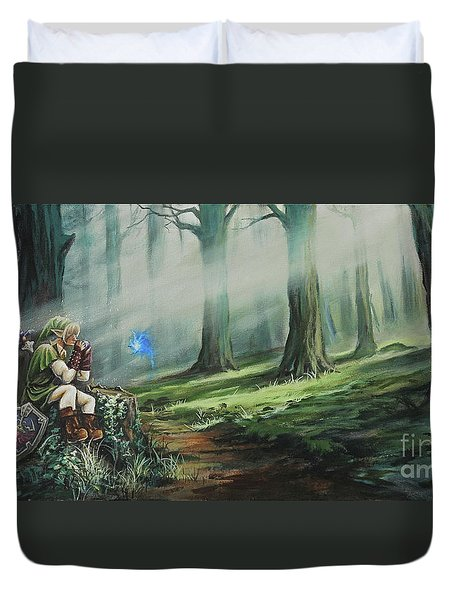 A Song For Navi Duvet Cover