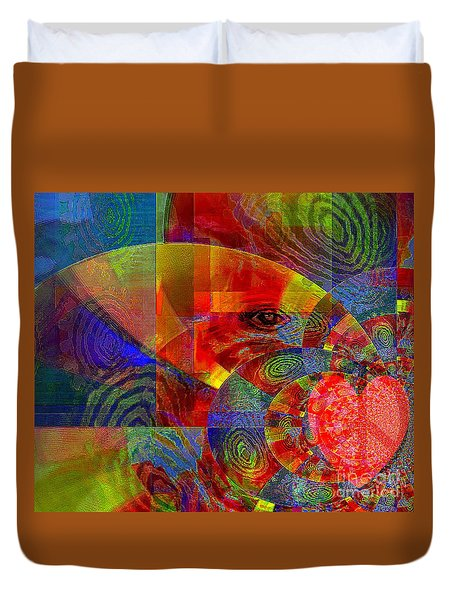 A Special Kind Of Love Duvet Cover