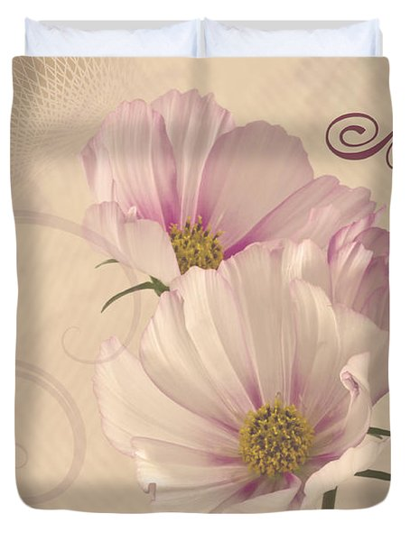 A Special Thank You - Card Duvet Cover