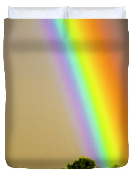 A Spectrum Of Nebraska 002 Duvet Cover