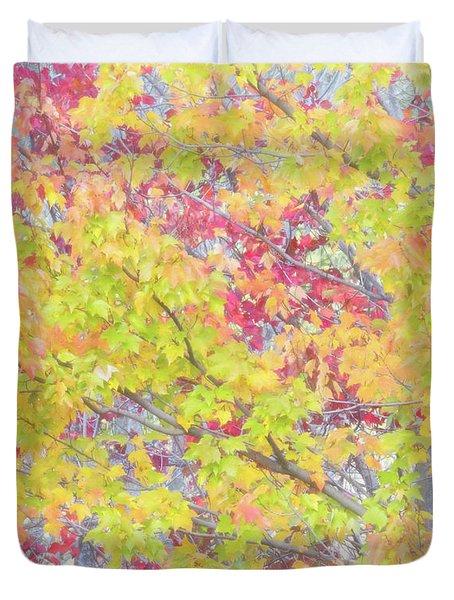 A Splash Of Color Duvet Cover