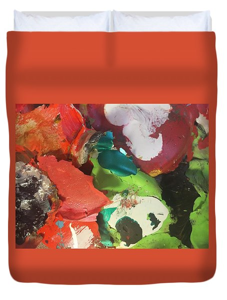 A Splash Of Colour Duvet Cover