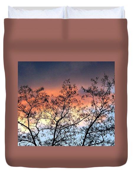 A Splendid Silhouette Duvet Cover by Will Borden