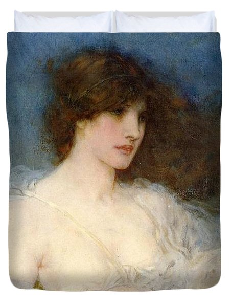 A Spring Idyll Duvet Cover by George Henry Boughton
