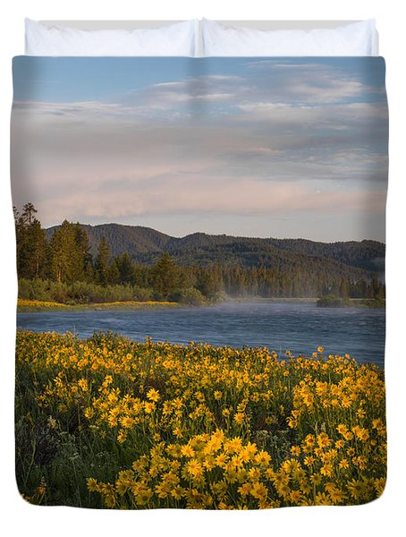 A Spring Morning Duvet Cover