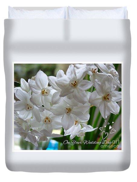 A Spring Wedding Duvet Cover