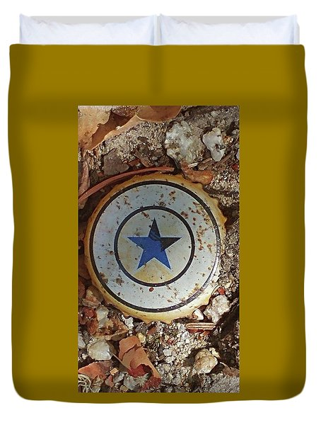 A Star Is Still A Star Even If It's Rusty Duvet Cover