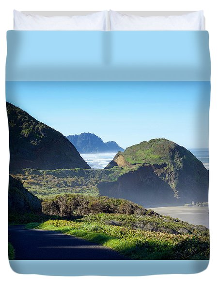 A State Of Mind Duvet Cover by Kandy Hurley