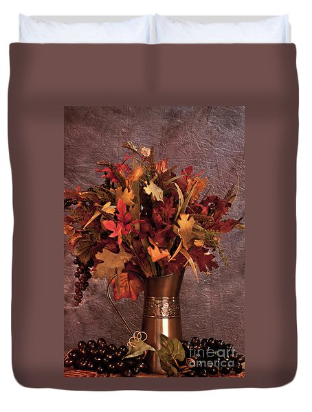 A Still Life For Autumn Duvet Cover