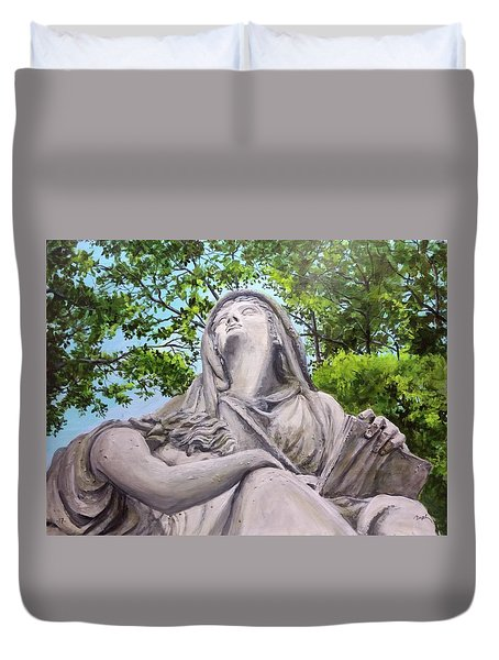 A Story Told Duvet Cover