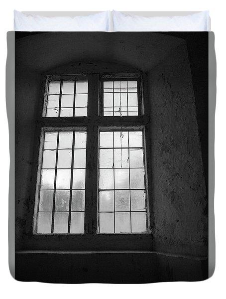 A Study Of Windows Duvet Cover