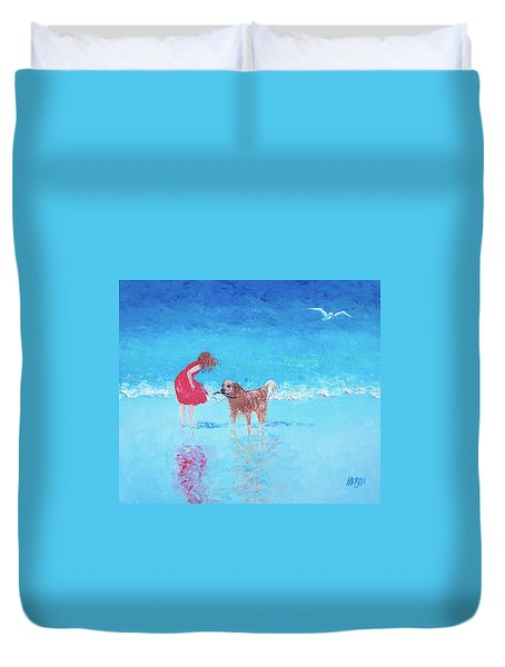 A Summer Breeze Duvet Cover