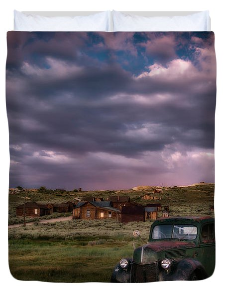 A Summer Evening In Bodie Duvet Cover