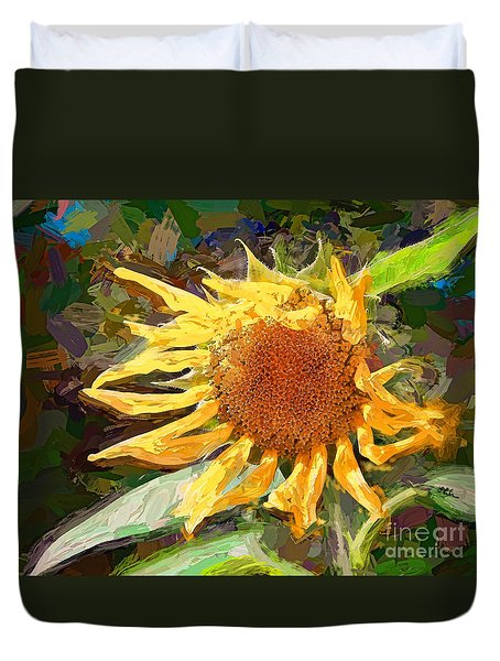 A Sunkissed Life Duvet Cover by Tina LeCour