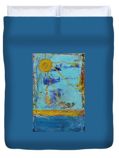 A Sunny Day Duvet Cover