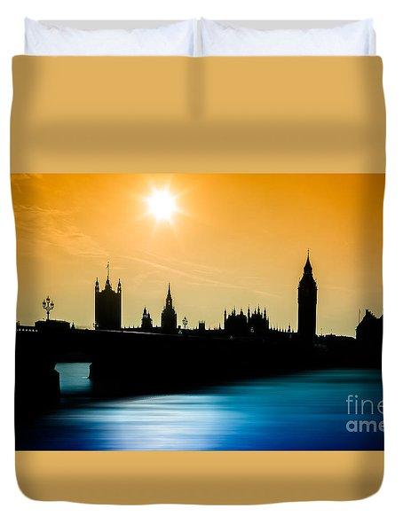 A Sunny Shape Duvet Cover