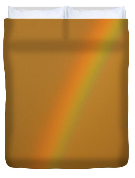 A Sunset Rainbow Duvet Cover