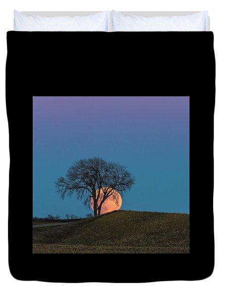A Super Evening Duvet Cover