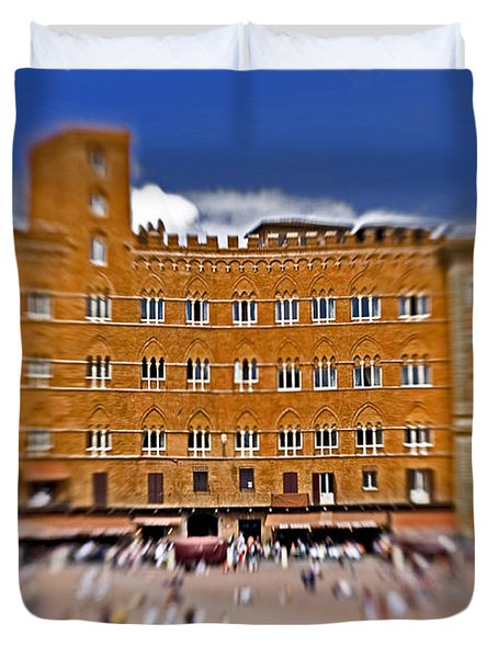 A Surreal Siena Duvet Cover by Marilyn Hunt
