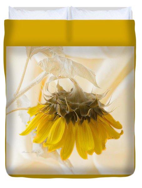 A Suspended Sunflower Duvet Cover