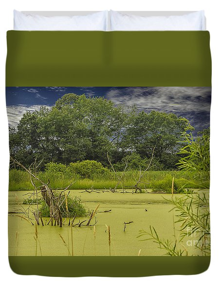 A Swamp Thing Duvet Cover by JRP Photography