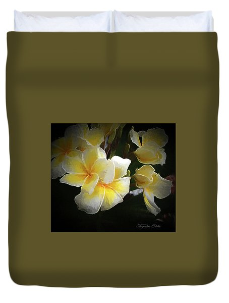 A Symbol Of Grace Duvet Cover