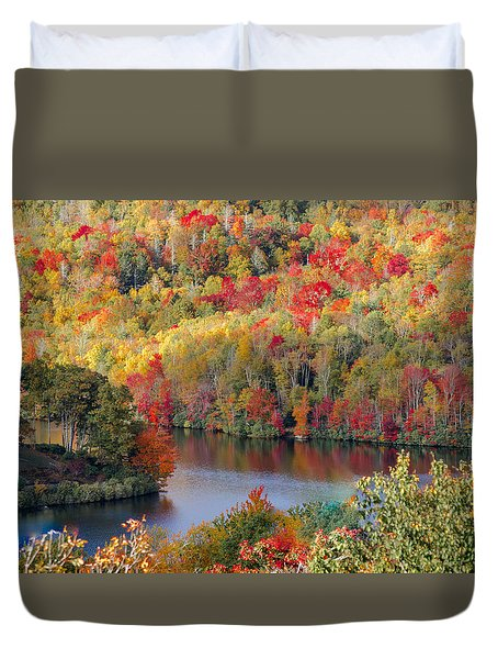 A Tennessee Autumn Duvet Cover