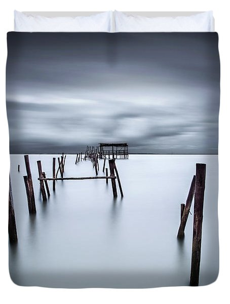 A Test Of Time Duvet Cover by Jorge Maia